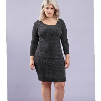 black-bodycon-plus-size-dress-and-trend-2017-2018