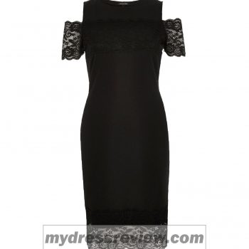 black-lace-river-island-dress-and-top-10-ideas
