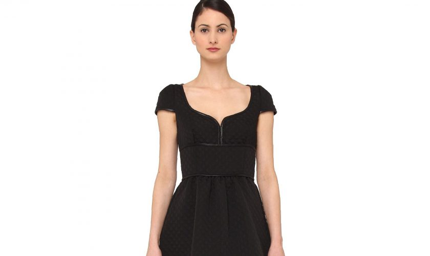 black-quilted-dress-review-2017
