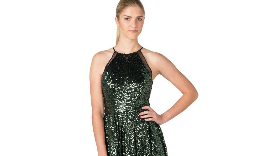 emerald-green-sequin-gown-review-clothing-brand