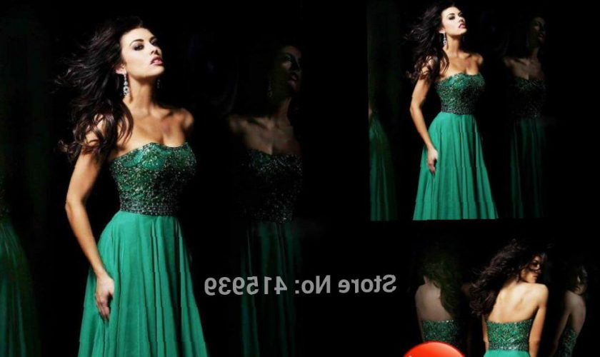 emerald-green-sweetheart-dress-clothes-review