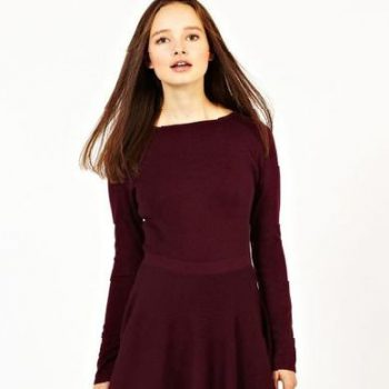 fit-and-flare-dress-with-long-sleeves-a-wonderful
