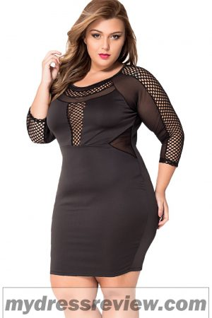 long-sleeve-plus-size-bodycon-dress-fashion-show