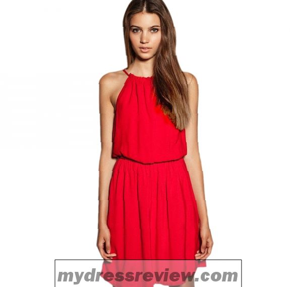 One Piece Dress In Red Color : Better Choice 2017